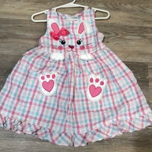 Youngland 3T Easter Bunny Dress